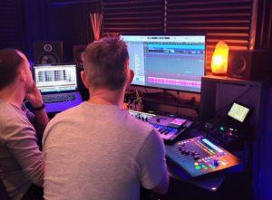 Ludovic et Mathieu en studio